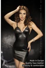 Passion Roca Mini Black Dress