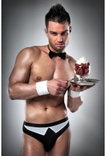 Passion Mens Waiter Costume Brief