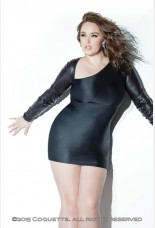 Coquette Darque Stretch Knit Dress