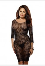 Dreamgirl Fishnet Dress