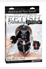 Fetish Fantasy Extreme Ball Gag And Blinder Mask
