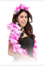 Hen Party Feather Boa Tiara Set