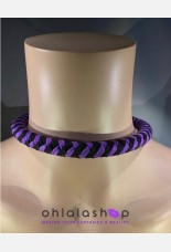 Kinky Tether 8 Strand Braid Para Cord Collar
