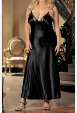 Shirley of Hollywood Long Satin Gown
