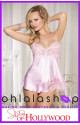 Shirley of Hollywood Chiffon And Lace Babydoll