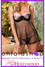 Shirley of Hollywood Dot Net Overlay Babydoll