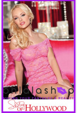 Shirley of Hollywood H.O.T. Lace Chemise And Panty Set