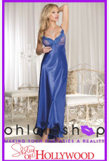 Shirley of Hollywood Net Long Gown