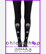Zohara What The Shell Black Tights